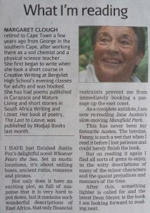 The Cape Times, 9 May 2014